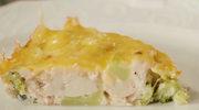 Zapiekanka brokułowa z kurczakiem