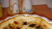 Zapiekanka dauphinois z borowikami