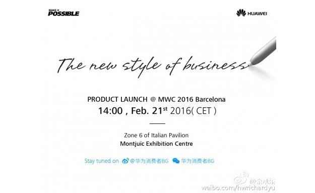 Zapowiedź Huawei /materiały prasowe
