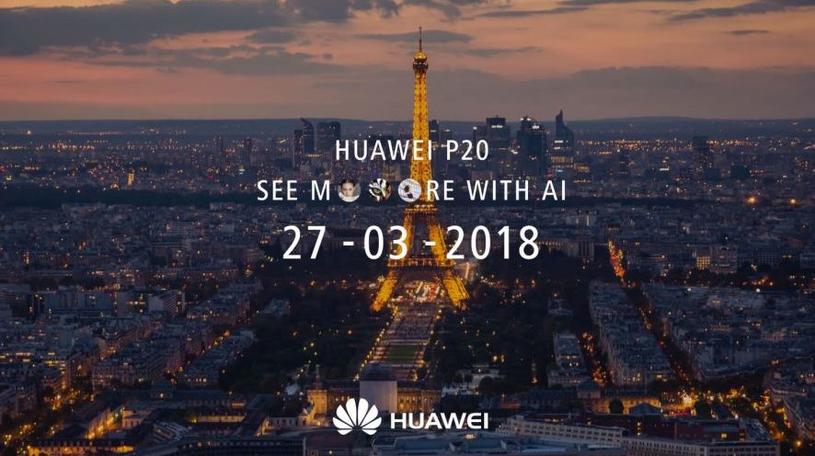 Zapowiedź premiery flagowca Huaweia - P20 /materiały prasowe