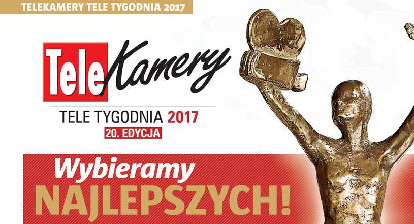 Zapraszamy do oddawania swych głosów w plebiscycie Telekamery Tele Tygodnia 2017 /materiały prasowe