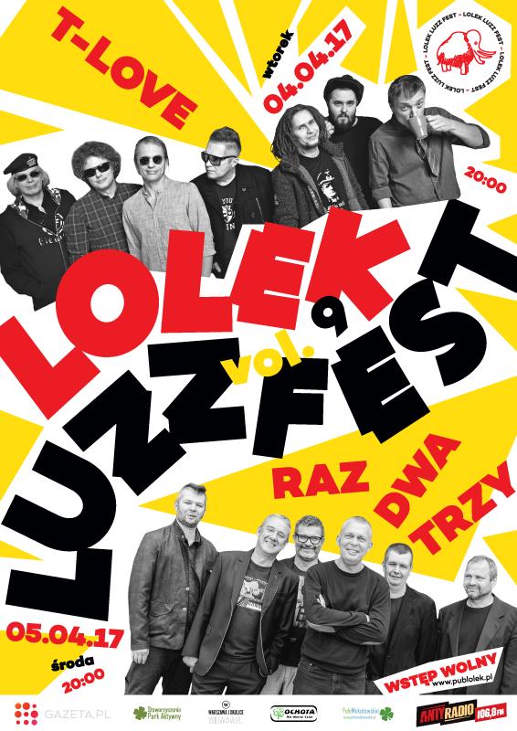 Zapraszamy na Lolek Luzz Fest vol 9 /materiały prasowe