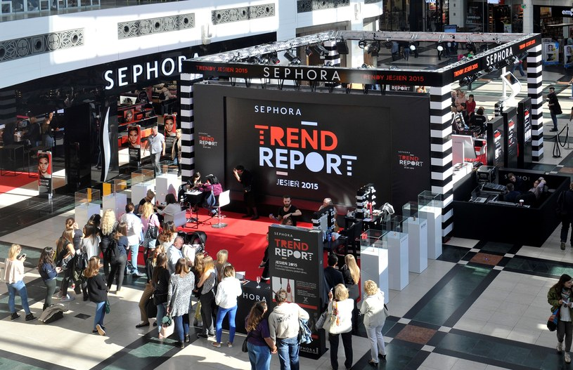 Zapraszamy na Sephora Trend Reportw w warszawskiej Arkadii /materiały prasowe