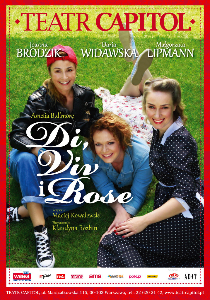 "Zapraszamy na spektakl ""Di, Viv i Rose"" do Teatru Capitol /materiały prasowe"