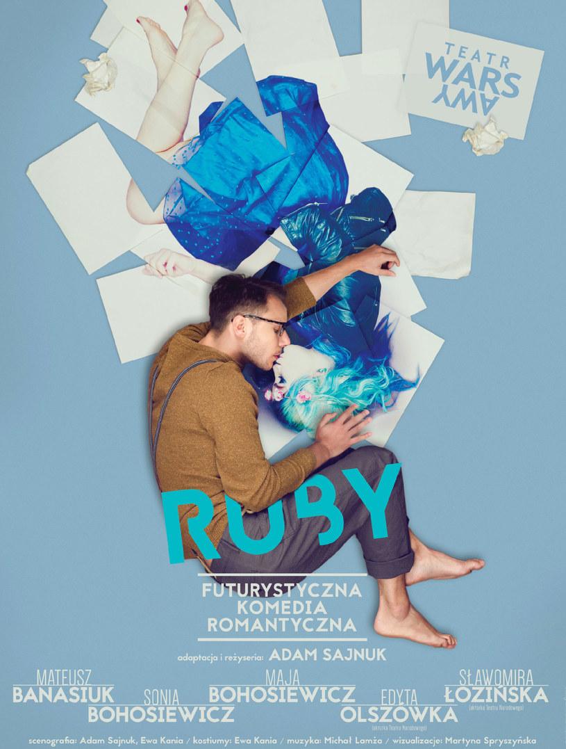 """Zapraszamy na spektakl """"Ruby"""" /materiały prasowe"""