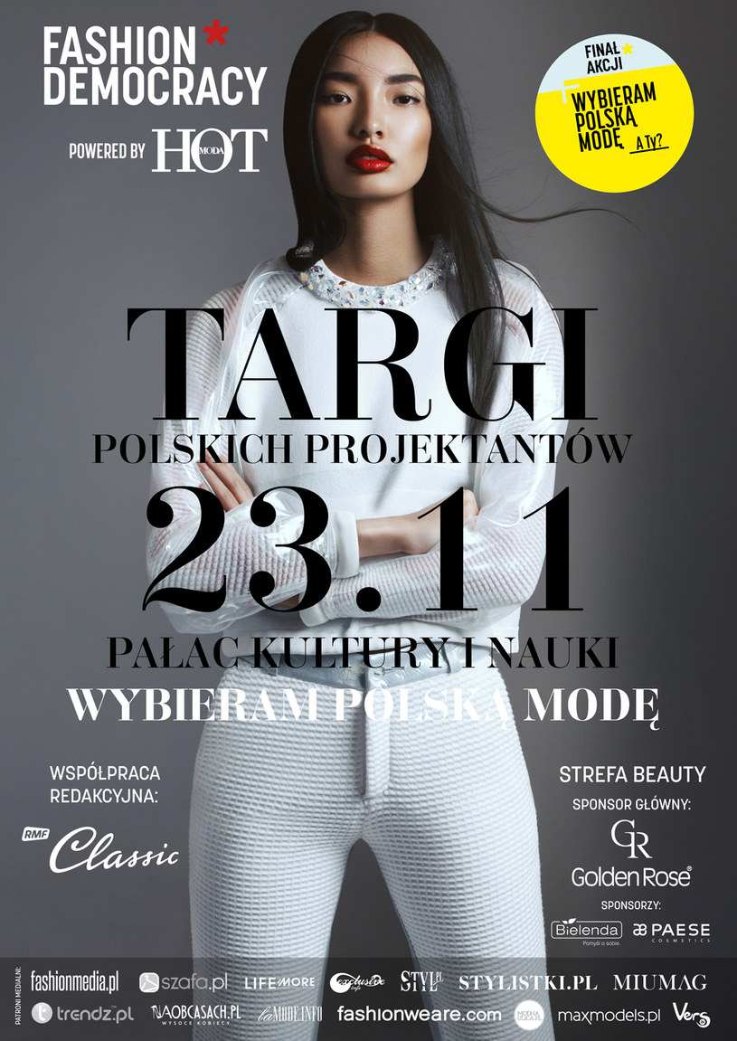 """Zapraszamy na targi """"Wybieram Polską Modę"""" w Pałacu Kultury i Nauki /materiały prasowe"""