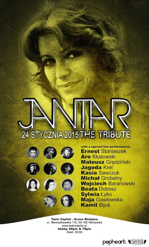"""Zapraszamy na """"Tribute to Jantar"""" już 24 stycznia w Teatrze Capitol w Warszawie /materiały prasowe"""