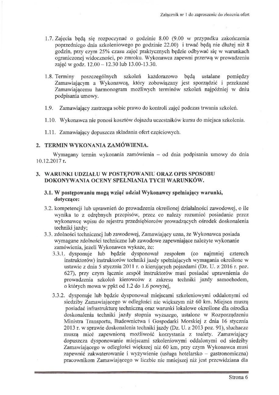 Zaproszenie do złożenia oferty /Zrzut ekranu