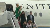 Zaprzysiężenie nowego prezydenta USA: Trump i jego rodzina już w Waszyngtonie
