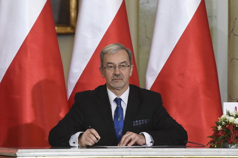 Zaprzysiężony na stanowisko ministra inwestycji i rozwoju Jerzy Kwieciński /Radek Pietruszka /PAP