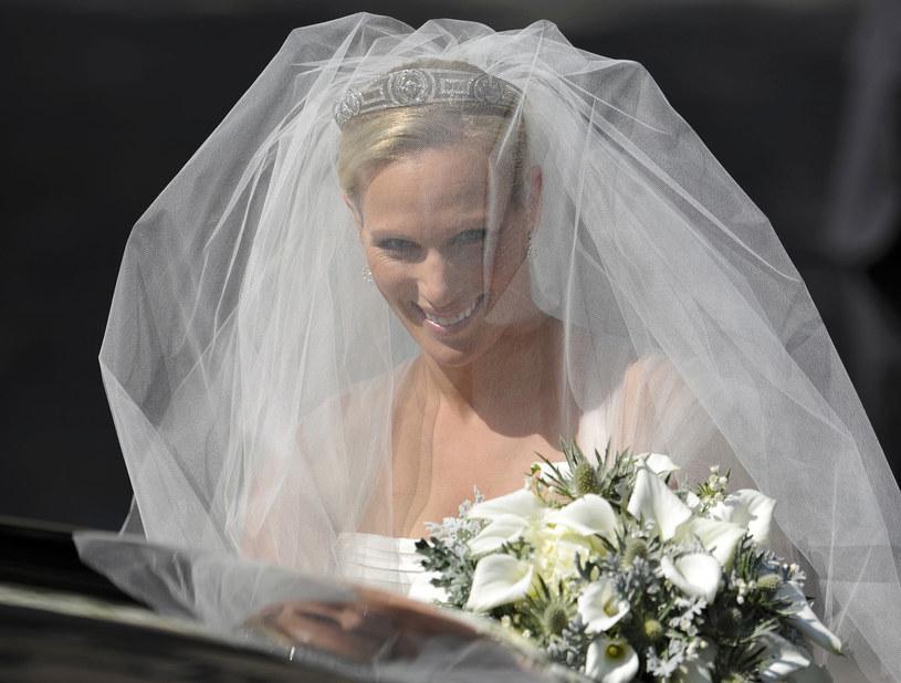 Zara Phillips urodziłą, zdjęcie /AFP