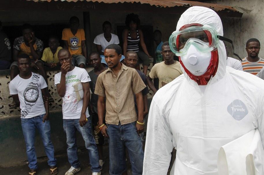 Zarażony ebolą Amerykanin przebywał w Afryce/ zdj. ilustracyjne /AHMED JALLANZO  /PAP/EPA