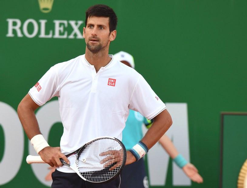 Zaskoczony Novak Djoković /AFP