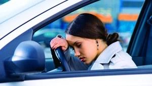 Zaśnięcie za kierownicą podczas jazdy