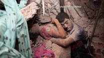 Zastygli w uścisku! Mężczyzna i kobieta zginęli pod gruzami fabryki