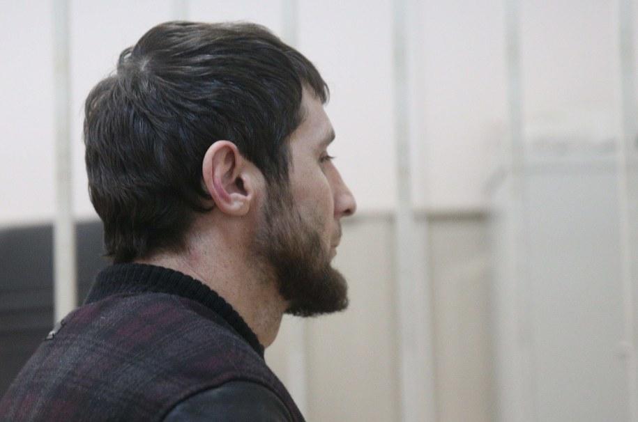 Zaur Dadajew domniemany zabójca Niemcowa /Pochuyev Mikhail    /PAP/EPA