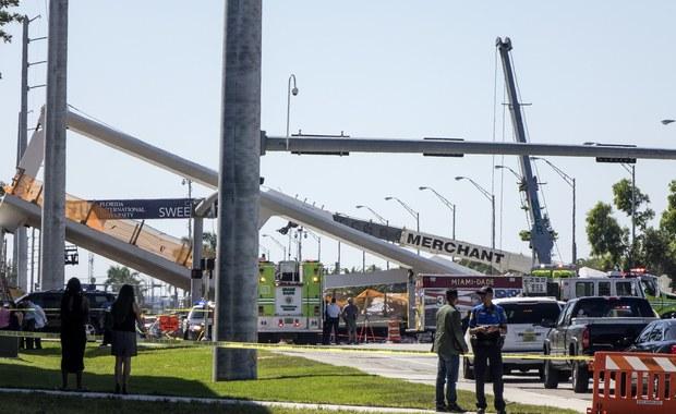 Zawalił się most w Miami. Służby wciąż szukają uwięzionych ludzi
