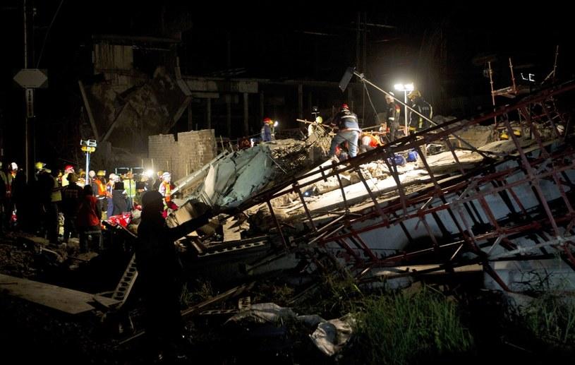 Zawaliło się centrum handlowe w mieście Tongaat w Republice Południowej Afryki. /PAP/EPA