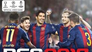 Zawodnicy FC Barcelony na okładce PES 2017