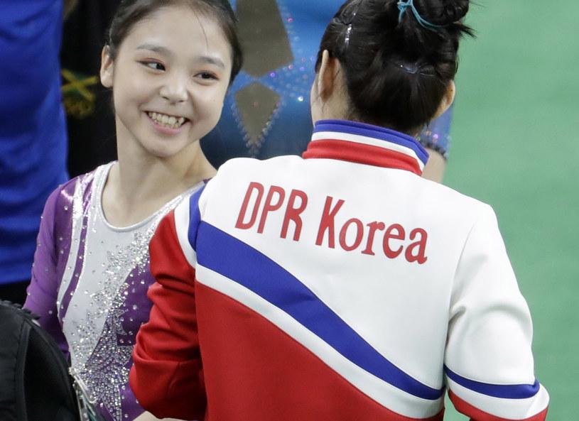 Zawodniczki z Korei Połnocnej i Południowej /AP/FOTOLINK /East News