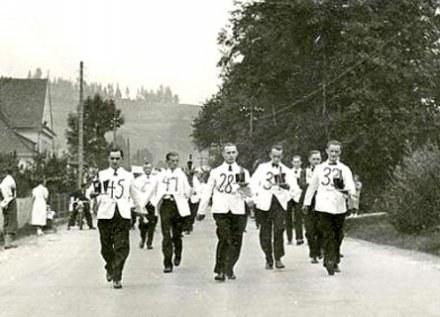 Zawody nawiązują do biegu, który w 1939 roku odbył się w Wiśle/fot. ARC /Gazeta Codzienna