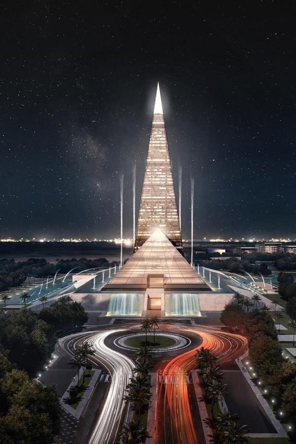 Zayed Crystal Spark będzie miał 200 m wysokości /materiały prasowe