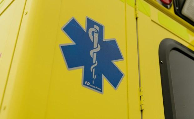 Zbeniny: Karetka transportowa śmiertelnie potrąciła rowerzystkę