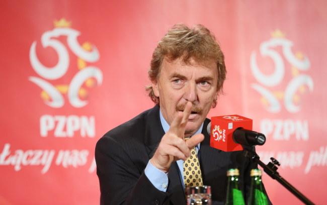 Zbigniew Boniek, prezes PZPN-u /Leszek Szymański /PAP