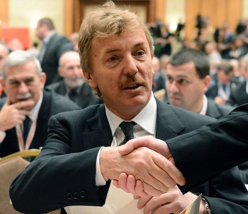Zbigniew Boniek został prezesem PZPN /AFP