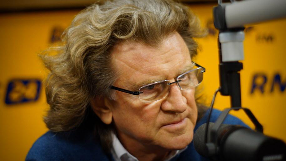 Zbigniew Wodecki w studio RMF FM /Michał Dukaczewski /RMF FM