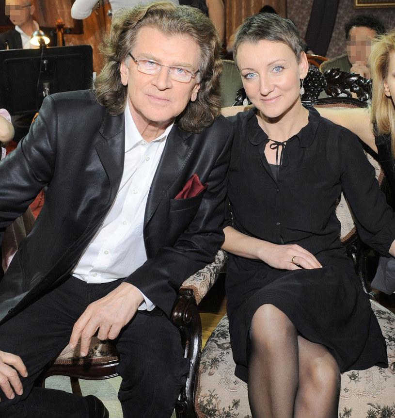 Zbigniew Wodecki z córką Katarzyną /East News