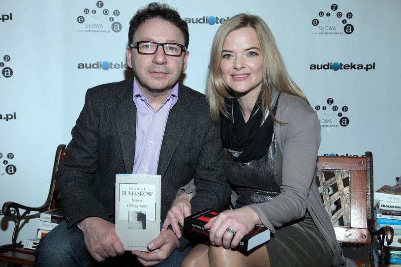 Zbigniew Zamachowski i Monika Richardson /Paweł Wrzecion /MWMedia
