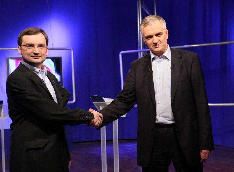 Zbigniew Ziobro i Jarosław Gowin /ANNA KACZMARZ/REPORTER /East News