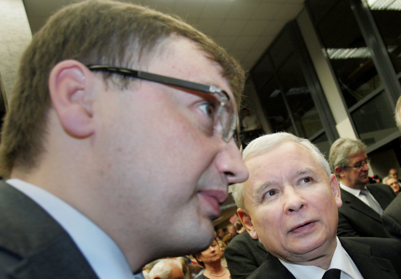 Zbigniew Ziobro i Jarosław Kaczyński (zdj. z 2010 roku) /Piotr Guzik/ Fotorzepa /Agencja FORUM