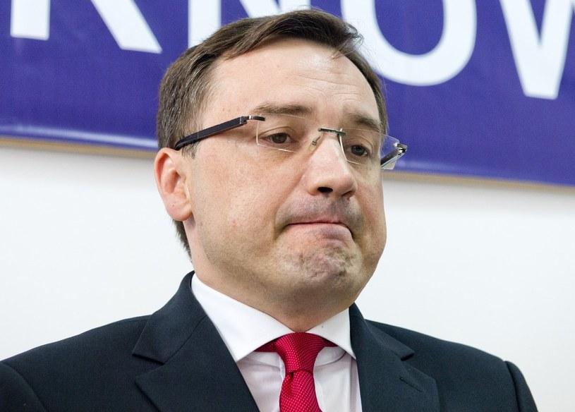 """Zbigniew Ziobro ścigając """"mityczny układ"""" pogwałcił prawo? /Piotr Tracz /East News/Reporter"""
