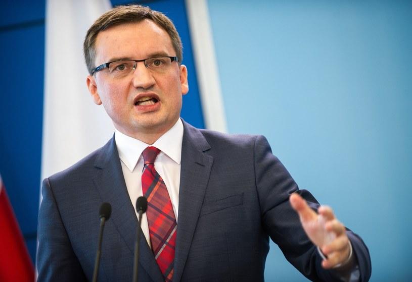 Zbigniew Ziobro - szef resortu sprawiedliwości /Bartosz Krupa /East News