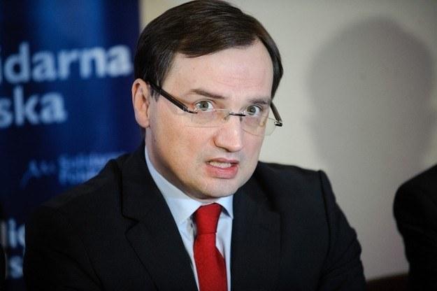 Zbigniew Ziobro /Reporter