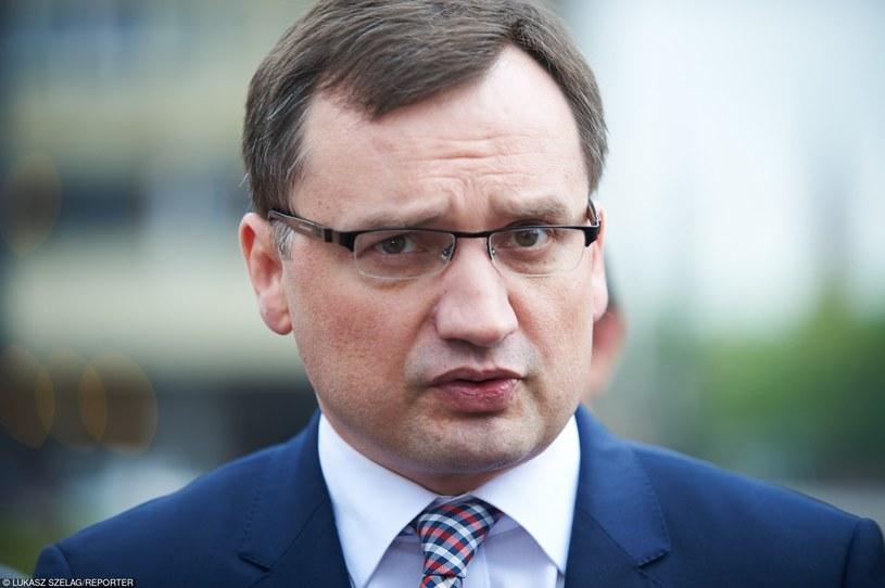 Zbigniew Ziobro /Łukasz Szeląg /Reporter