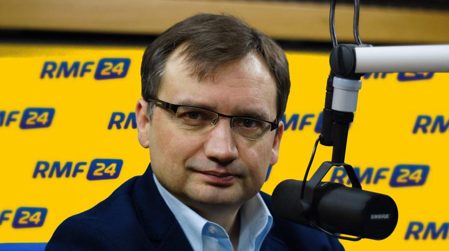 Zbigniew Ziobro /Michał Dukaczewski /RMF FM