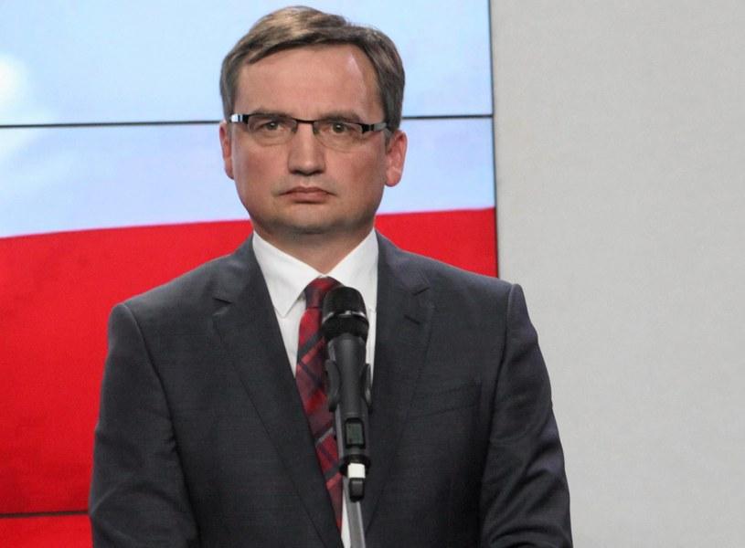 Zbigniew Ziobro /Sławomir Kamiński /