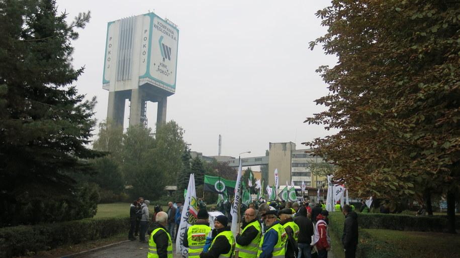 Zdaniem górników rząd nie wywiązał się ze styczniowego porozumienia /Józef Polewka (RMF FM) /RMF FM