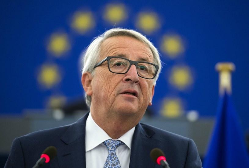 Zdaniem prof. Krasnodębskiego, wystąpienie Junckera było zaskakująco koncyliacyjne /AFP