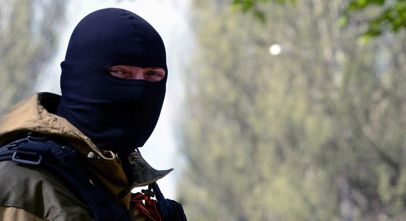 Zdaniem SBU porwania dokonała grupa Striełka (Strzelca) kierowana przez oficera wywiadu wojskowego GRU. /AFP