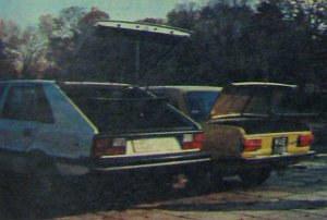Zdecydowanie lepszy dostęp jest do bagażnika Poloneza, większego zresztą niż w PF 125p. /Motor