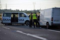 Zderzenie dwóch busów pod Szczecinem