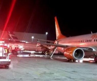 Zderzenie samolotów na lotnisku w Toronto. Nikt nie ucierpiał
