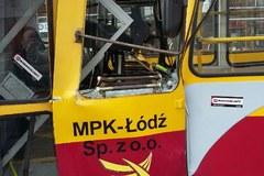 Zderzenie tramwajów w Łodzi. Są poszkodowani