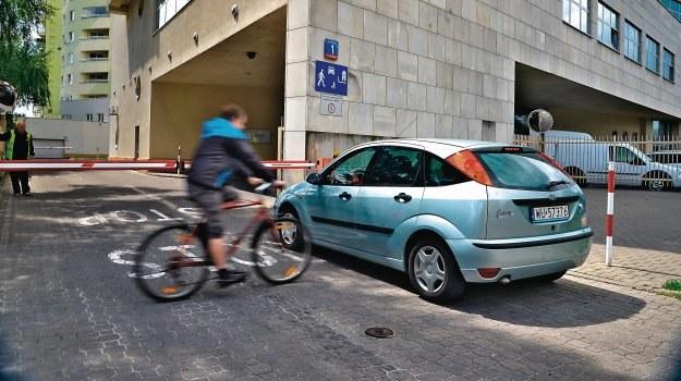 Zderzenie z rowerzystą /Motor