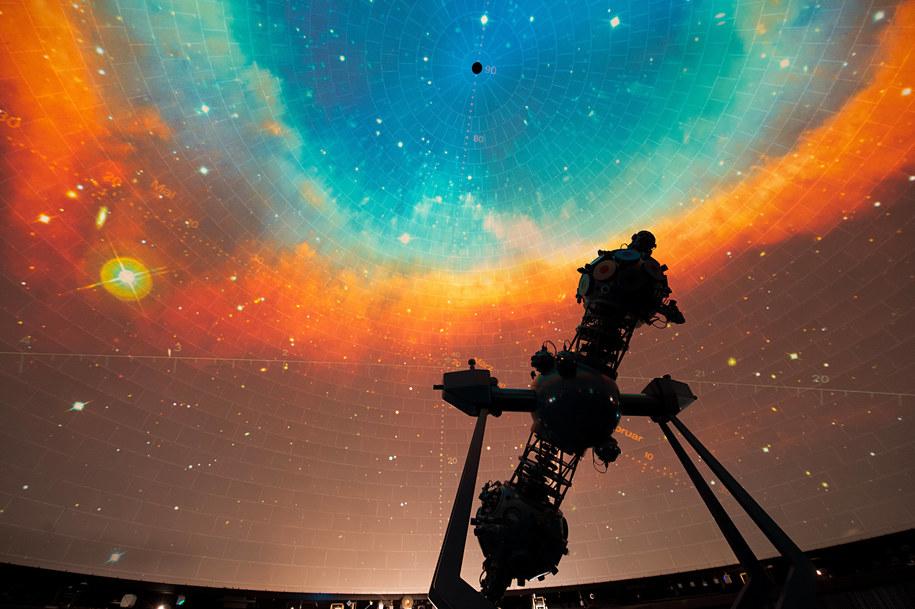 zdj. ilustracyjne/ Planetarium w Berlinie / MAURIZIO GAMBARINI   (PAP/DPA) /PAP/EPA