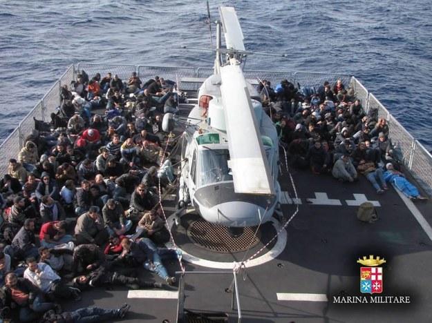 Zdj. ilustracyjne / ITALIAN NAVY PRESS OFFICE / HANDOUT    /PAP/EPA